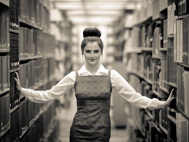 Librarian retro