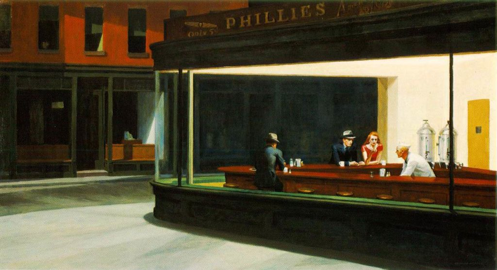 Nighthawks by Edward Hopper