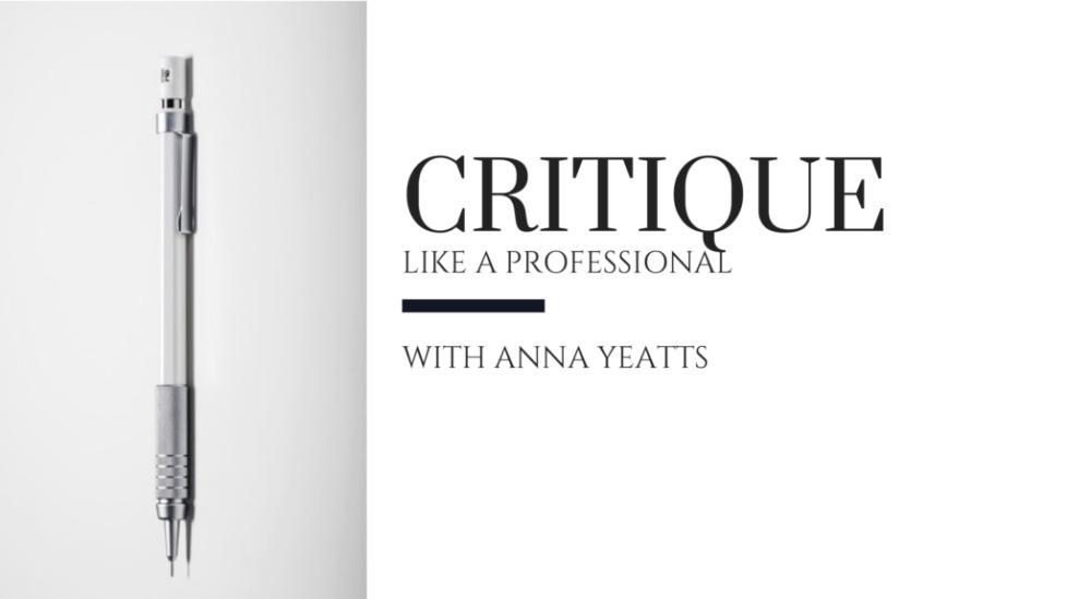 How to give a professional manuscript critique